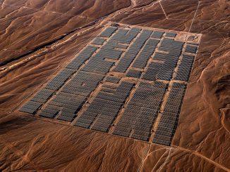 solar panels Chile