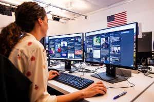 Sala de guerra de Facebook durante las elecciones en Brasil el año pasado