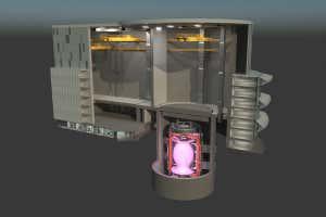 Planta de energía de fusión