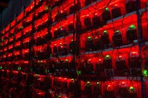 La minería de Bitcoin requiere mucha potencia informática